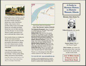 Warsaw - Nauvoo Historical Brochure